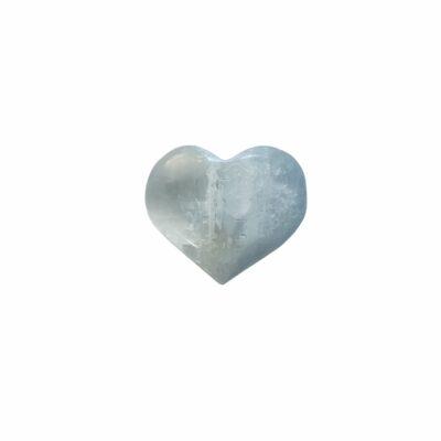 iBella Selenite Heart